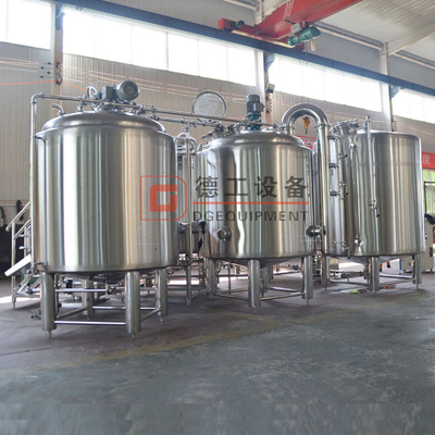 1000l Stainless Steel Automatic Beer Brewing te Koop in European Market
